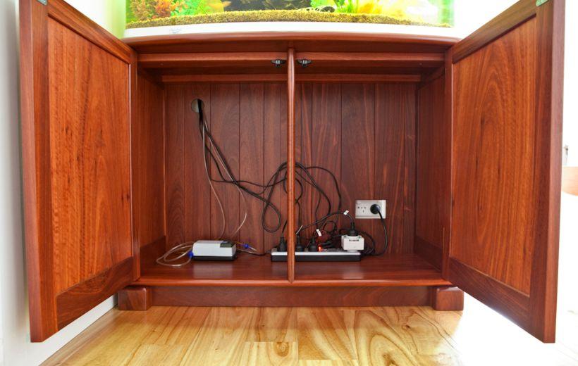 Custom Made Aquarium Cabinet