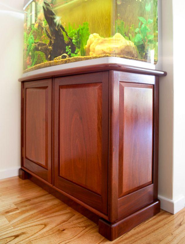 Aquarium Cabinet In Jarrah Perth Wa Peter Walker Furniture