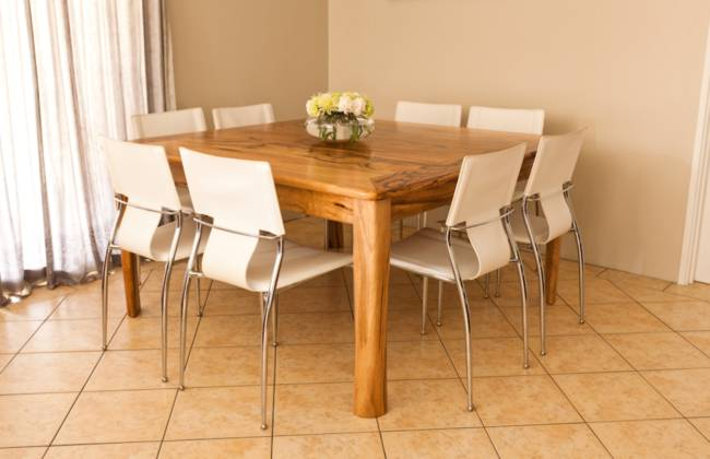 Extendable Dining Table In Marri By Peter Walker Furniture Perth