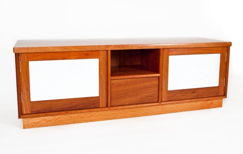 Sheoak tv cabinet - Furniture maker Perth
